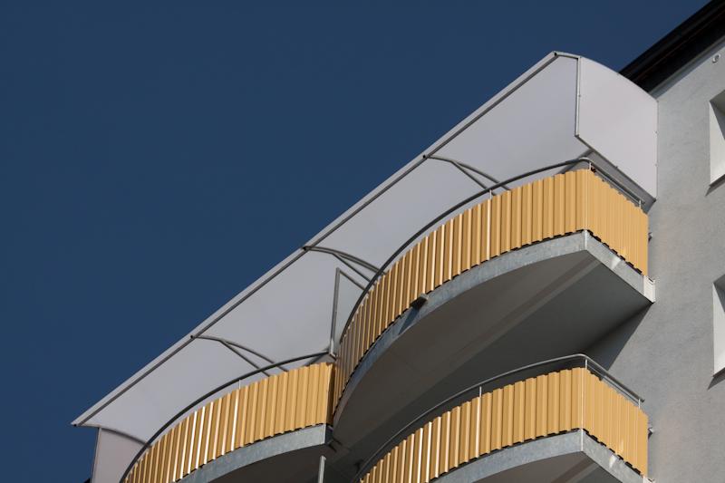 Balkon pro roz en betonov podesty pekstra for Balcony platform