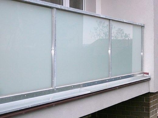 Zábradlí výplň bezpečnostní sklo
