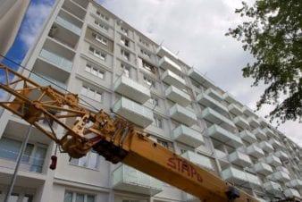 Montáž balkonu