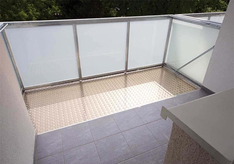 Balkon pro rozšíření lodžie