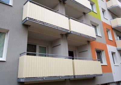Balkon pro lodžie s vloženou konstrukcí