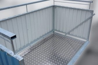 Konstrukce balkonu