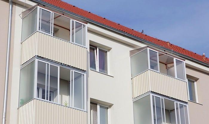 Zasklení balkonu PEKSTRA
