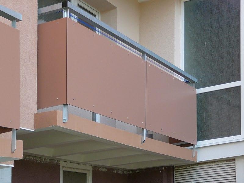 Výplň balkonového zábradlí
