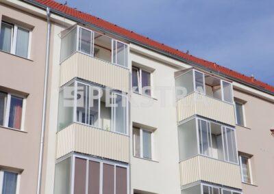 Zasklené balkony