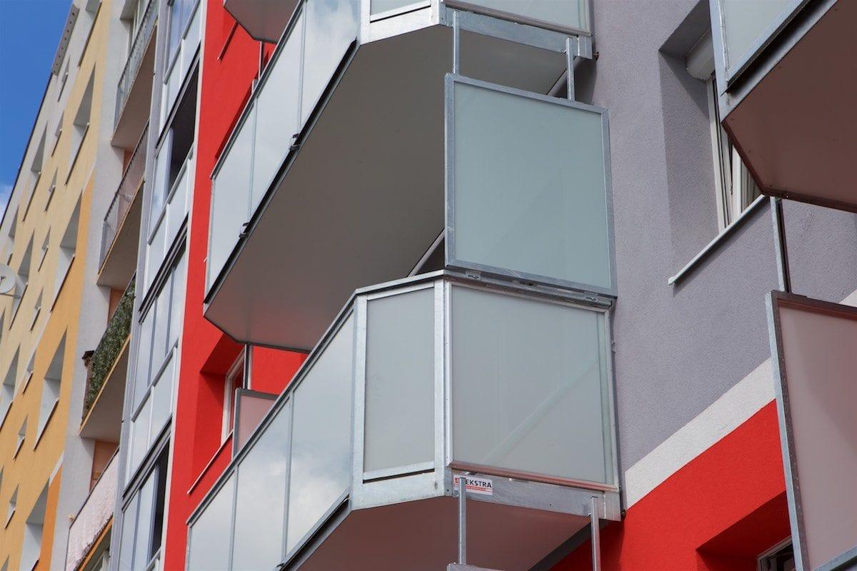 Zástěna balkonu