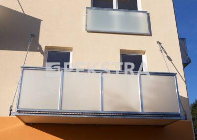 Kotvení balkonu stropními táhly