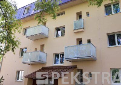 Závěsný balkon normal sklo