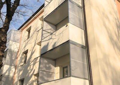 balkon plech zástěny