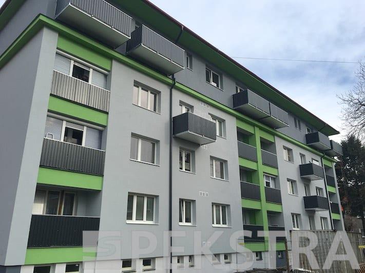 Finální realizace balkonů