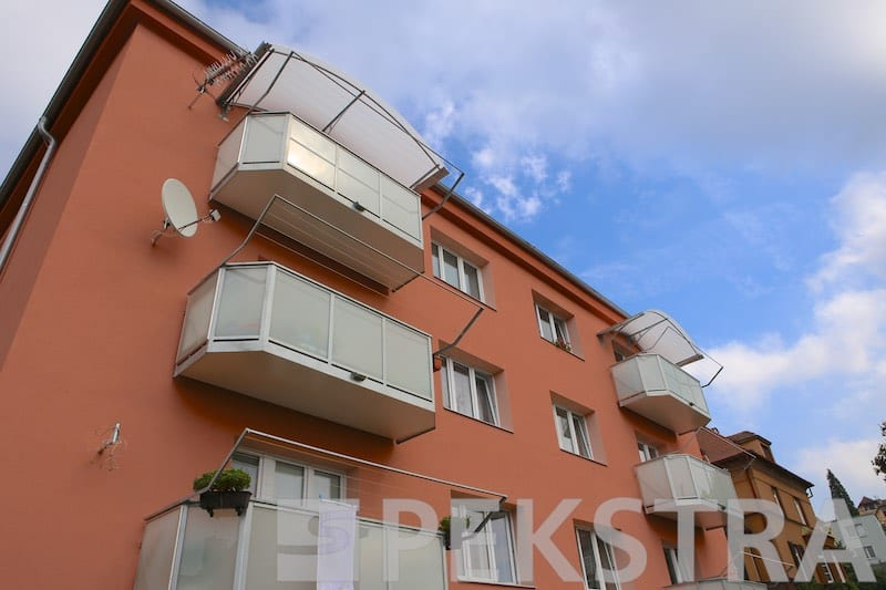 Balkony ideal sklo