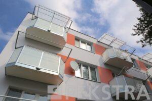 Balkony Ideal s bezpečnostním sklem