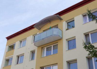 Ocelové balkony Ideal