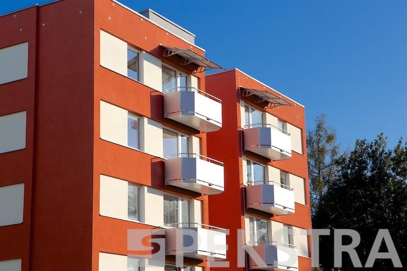 Ideal balkon závěsný, hladká výplň