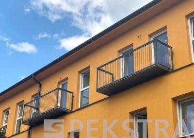 Balkony se šprušlemi