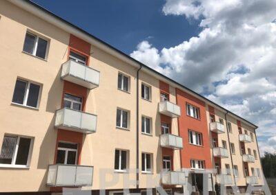 Nové balkony realizace 2018