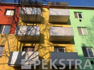 balkony normal trapézový plech