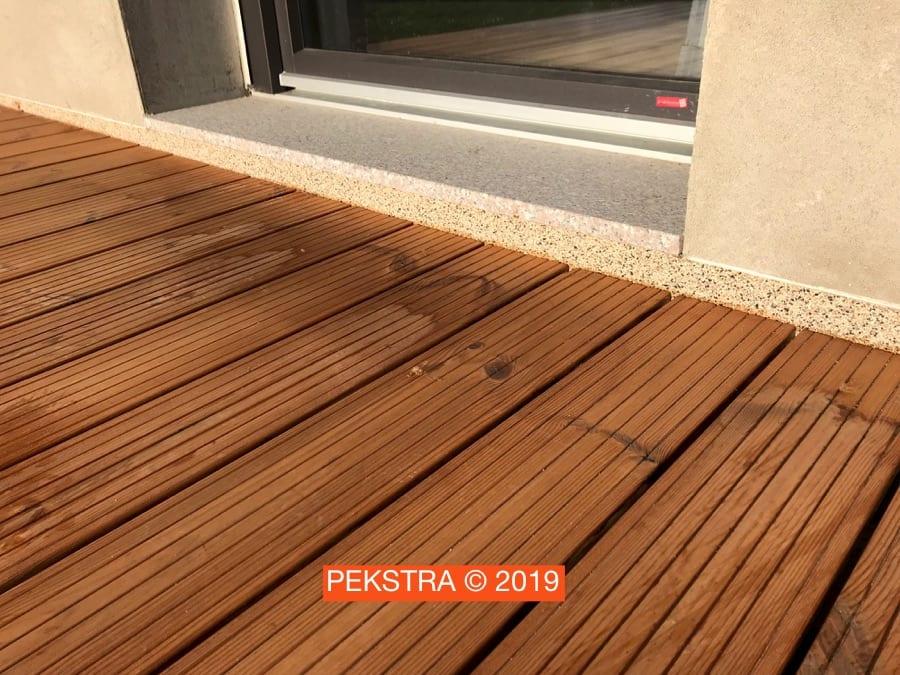 Krytí podlahy balkonu