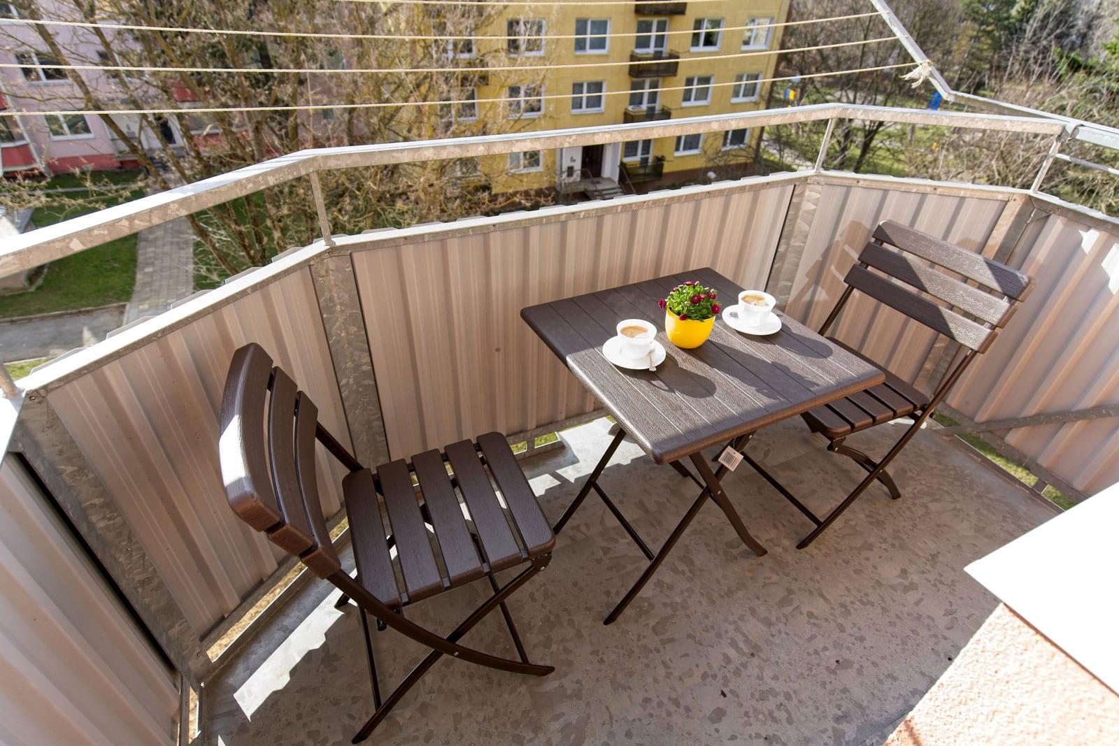 Balkonový nábytek pekstra