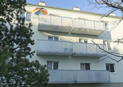 Balkony nová realizace
