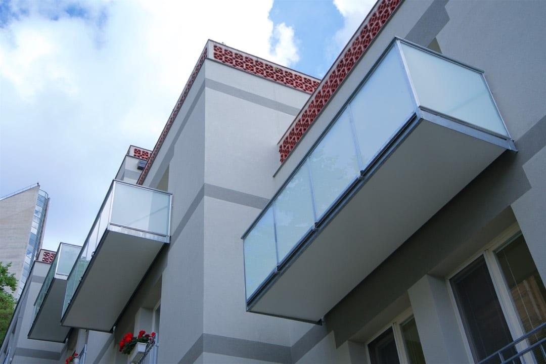 Balkon kombinace výpně