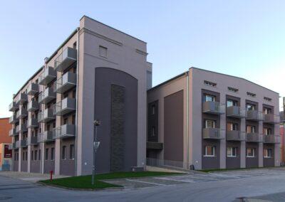 Balkony kombinovaná výplň
