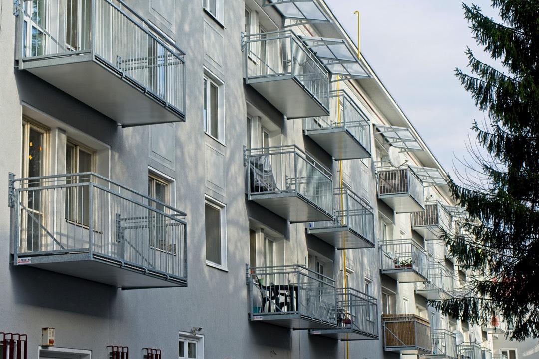 Balkony výplň tyčovina