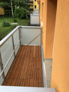 balkony nova realizace