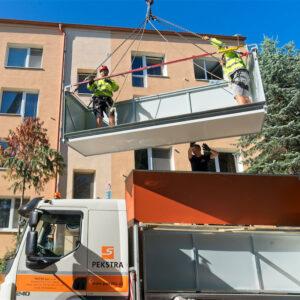 Montáž balkónů