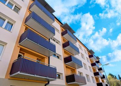 Balkony trapézový plech
