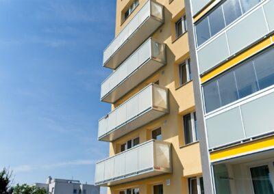 balkony 6x1 m